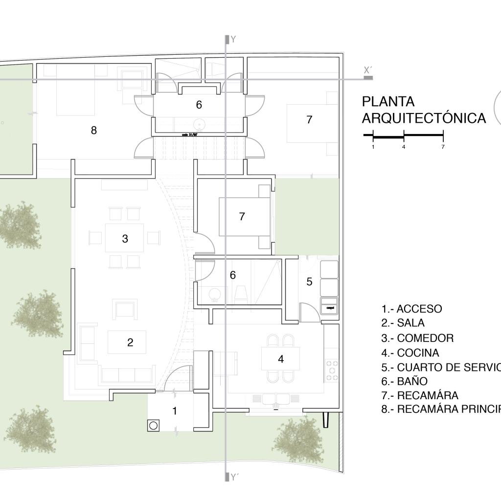 Planta Arquitectonico